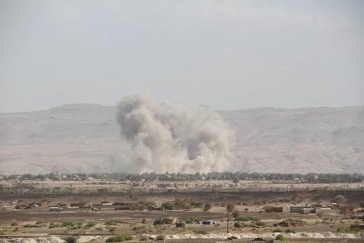 التحالف السعودي يشن 11 غارة على مديرية صرواح غربي مأرب