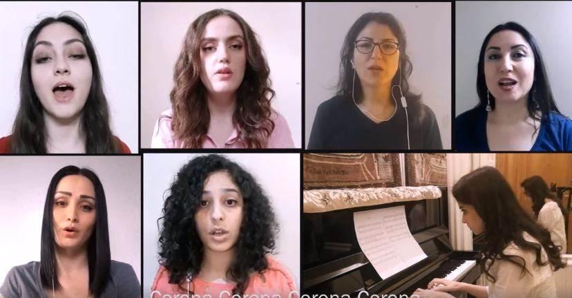 """""""كورال غاردينيا"""" النسائي يطلق أغنية جديدة عن """"كورونا"""""""