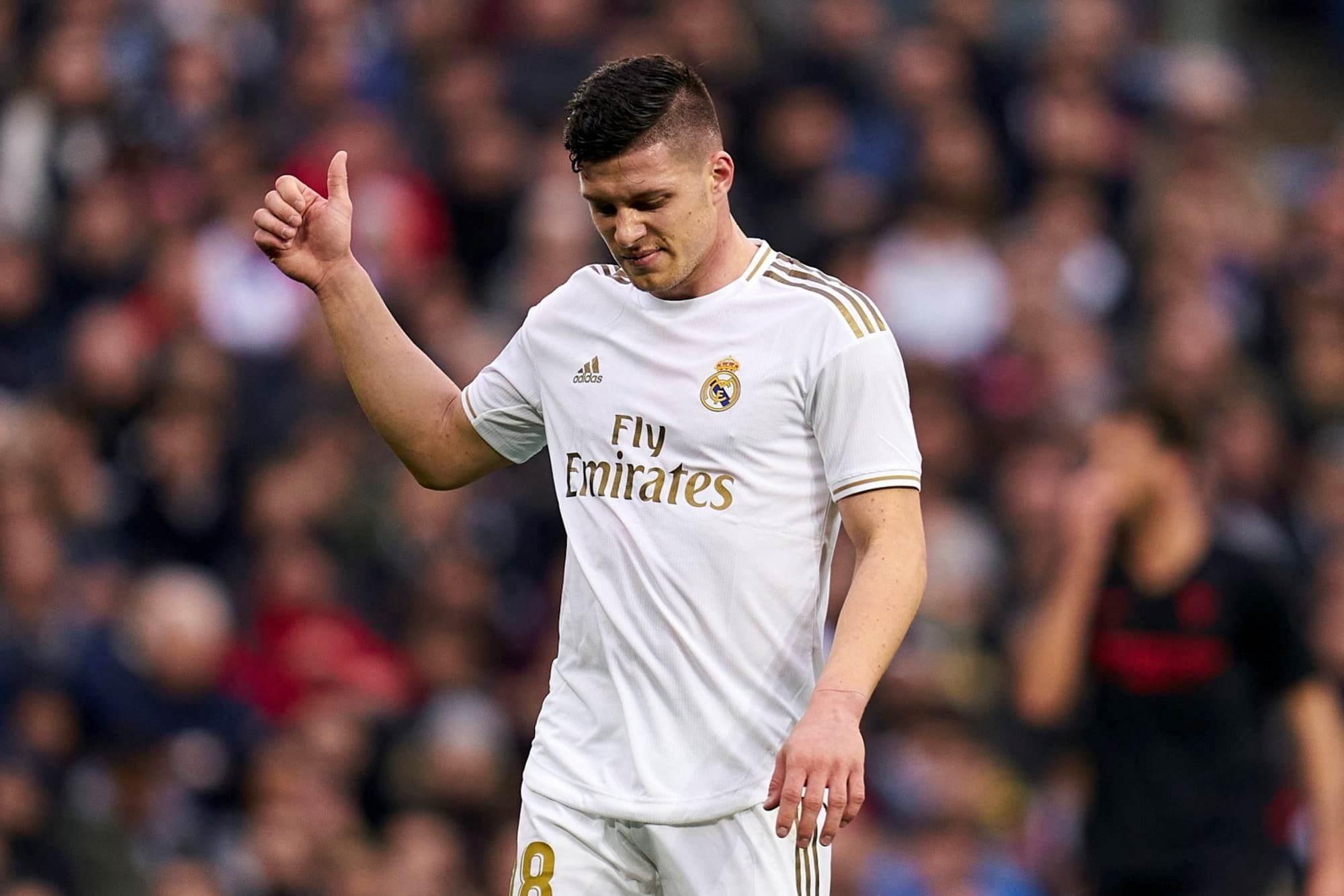 إصابة مهاجم ريال مدريد لوكا يوفيتش
