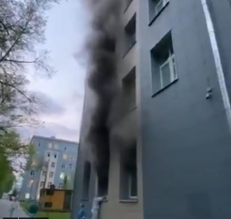 وفاة شخص في حريق في أحد مستشفيات موسكو