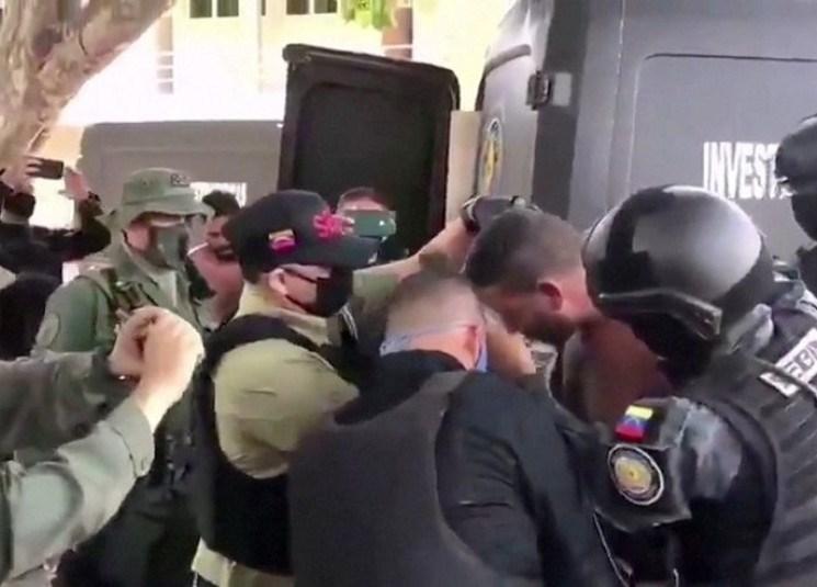 فنزويلا توجه تهمة الإرهاب والتآمر إلى عسكريّين أميركيّين