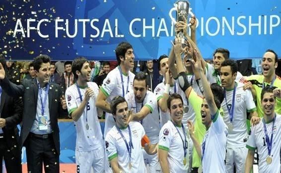 كرة الصالات: مباراتان ودّيتان لإيران أمام البرازيل وإسبانيا
