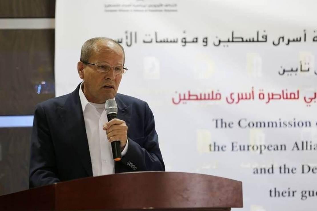 رئيس هيئة الأسرى: إنشاء بنك خاص  للأسرى الفلسطينيين وذوي الشهداء