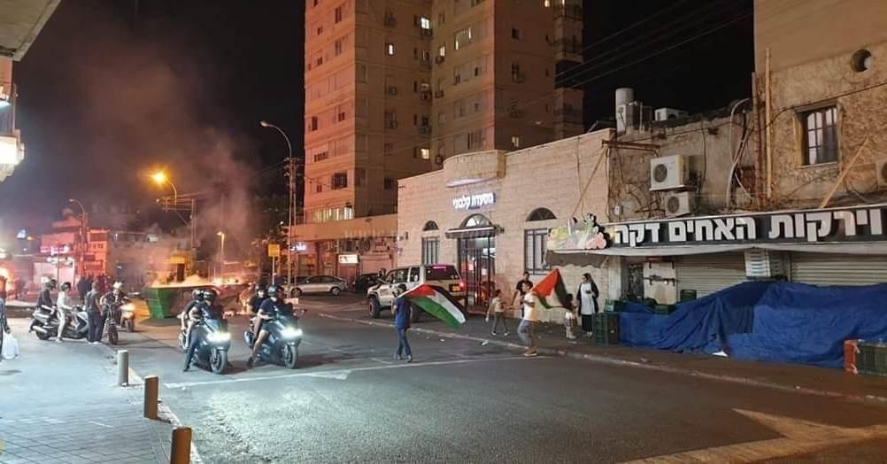 """""""هذه مجرد بداية"""" رفضاً لانتهاكات الاحتلال بحق الفلسطينيين"""