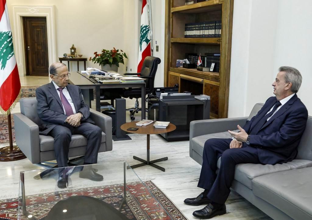 الرئيس اللبناني: ارتفاع سعر صرف الدولار يؤشر إلى مخطط مرسوم للبلد