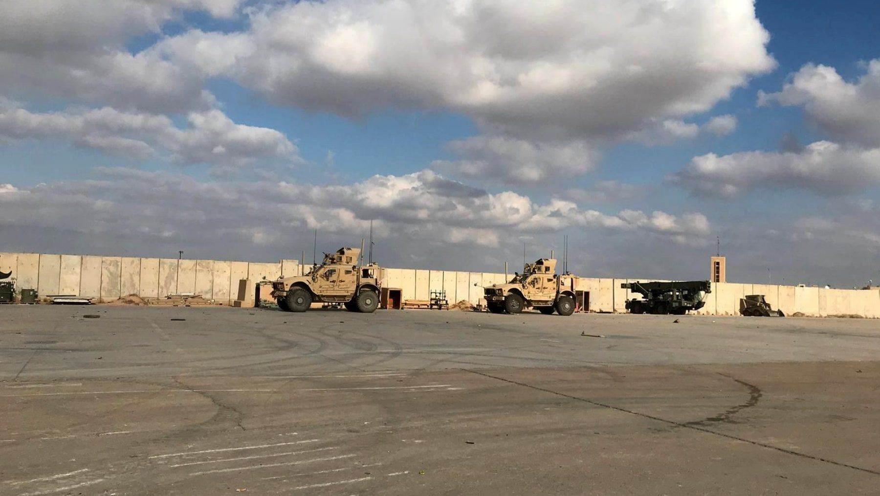 صاروخا كاتيوشا سقطا على معسكر التاجي العراقي وقيادة العمليات تعلّق