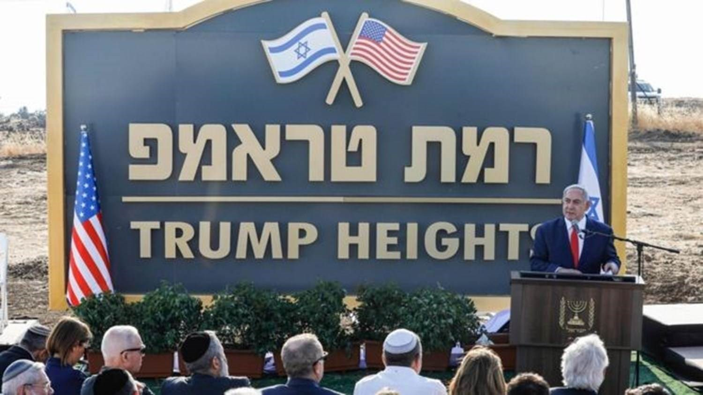 """نتنياهو يحضّر لإقامة مستوطنة """"ترامب"""" في الجولان المحتل!"""