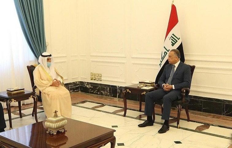 حاملاً رسالة من أمير البلاد.. صالح والكاظمي يستقبلان وزير الخارجية الكويتي