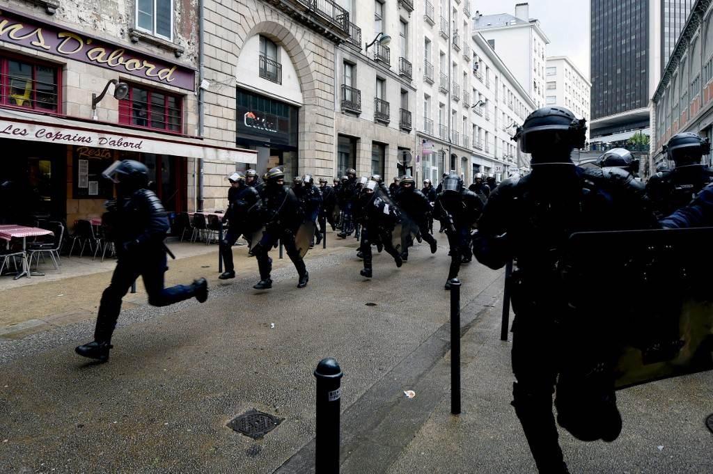 اضطرابات في مدينة ديجون الفرنسية