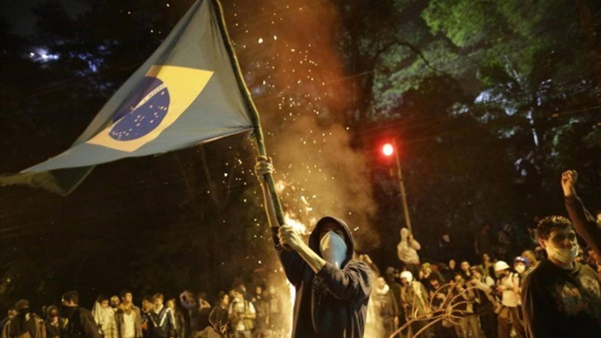 تظاهرات ضخمة في البرازيل ضدّ العنصرية وتنديداً بسياسة بولسونارو