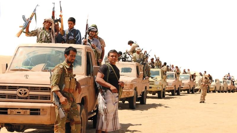 القوات اليمنية تسيطر على أجزاء من منطقة حلحلان بمأرب