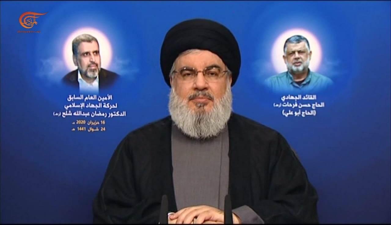 السيد نصر الله: سيبقى سلاحنا في أيدينا ولن نجوع ولدينا معادلة لن نكشف عنها الآن