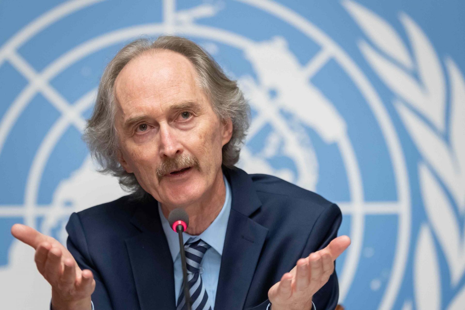 بيدرسون: العقوبات الأميركية على سوريا تضعف الوضع الاقتصادي أكثر
