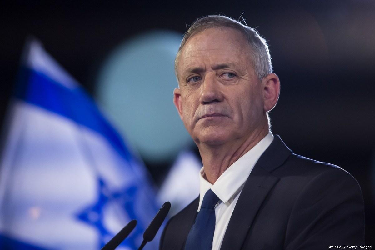 غانتس: لن أدعم فرض السيادة في مناطق يقطنها سكان فلسطينيون كثر