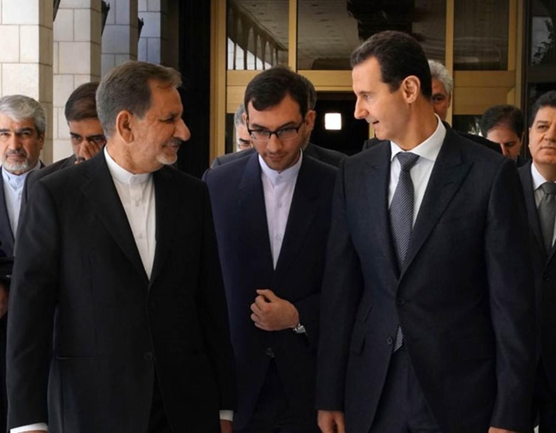 الرئاسة الإيرانية: طهران لن تتردد في اتخاذ أي إجراء لتخفيف الضغوط على دمشق