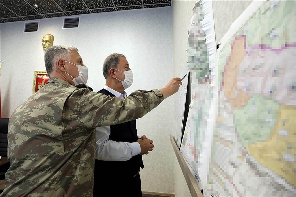 """تركيا تستهدف مواقع لحزب العمال الكردستاني ضمن عملية """"مخلب النمر"""""""