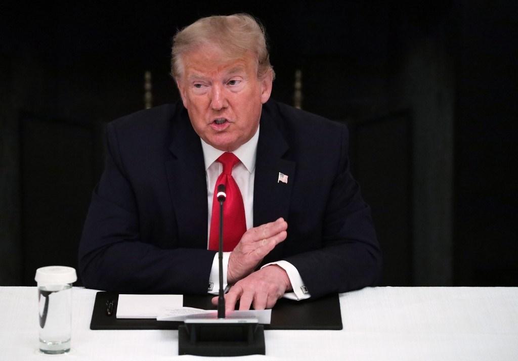 """ترامب لا يستبعد """"الانفصال الكامل"""" بين الاقتصادين الأميركي والصيني"""