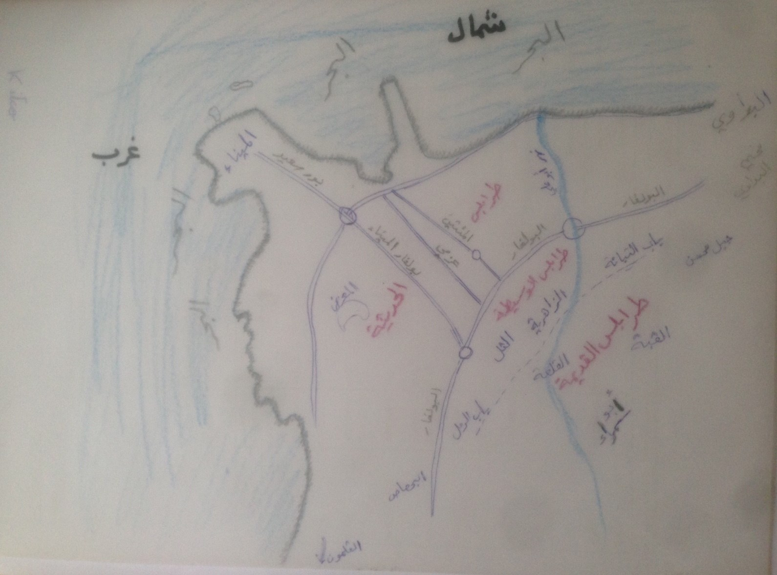 طرابلس: مدينة الحقب التاريخية