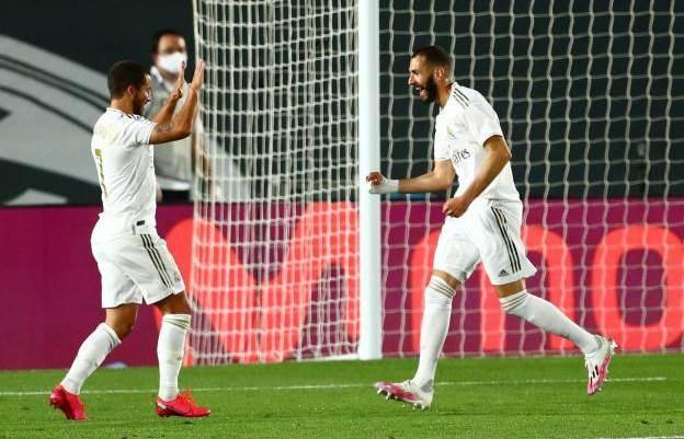 ريال مدريد يهزم فالنسيا بثلاثية