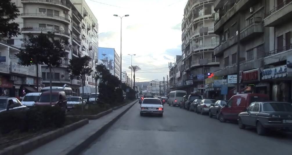 بولفار طرابلس يشقها من شمالها إلى جنوبها