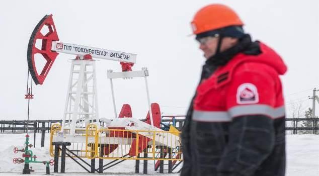 إنتاج روسيا من النفط ومكثفات الغاز إلى انخفاض