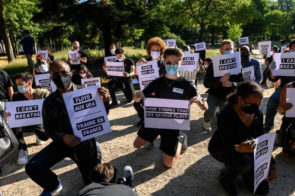 احتجاجات عالمية تضامناً مع المتظاهرين الأميركيين