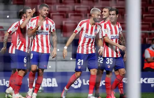 أصبح أتلتيكو مدريد في المركز الثالث