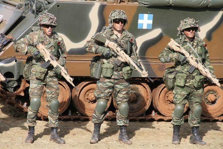 فلوروس: من سيهاجم القوات المسلّحة اليونانية سيدفع ثمناً باهظاً (صورة أرشيفية).