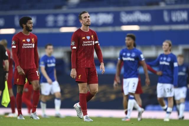 تعادل ليفربول أمام إيفرتون 0-0