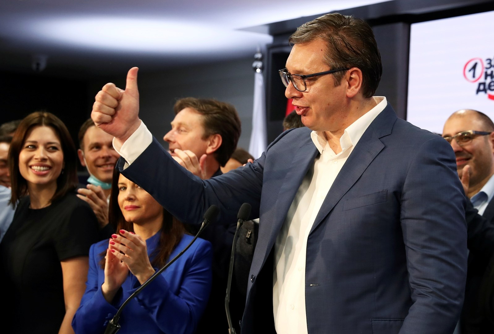 فوتشيتش: حصلنا على أكبر قدر من ثقة الشعب في تاريخ صربيا