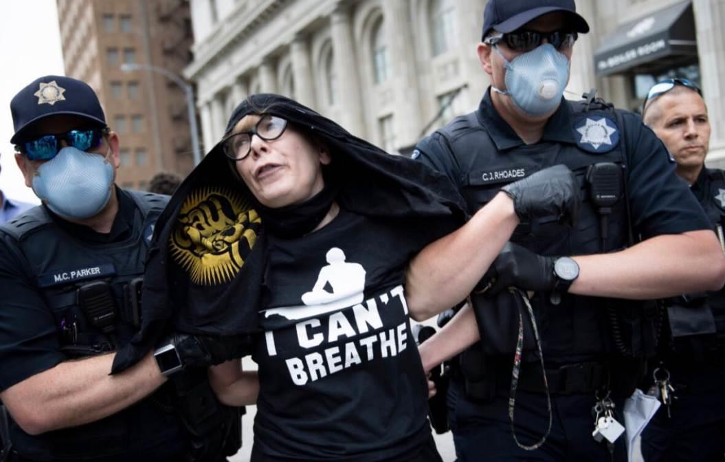 اعتقال الشرطةالأميركية مدرسة فنون