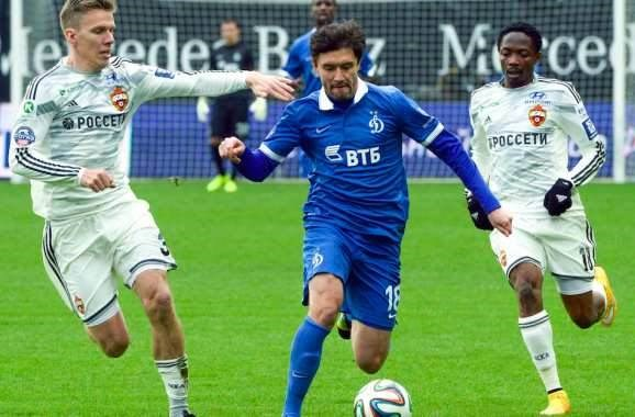 الإصابات الثلاث في فريق دينامو موسكو