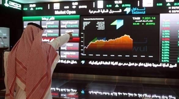 هبط المؤشر السعودي الرئيسي 0.5 بالمئة وخسر سهم شركة (سابك) للصناعات الأساسية 1.2 بالمئة
