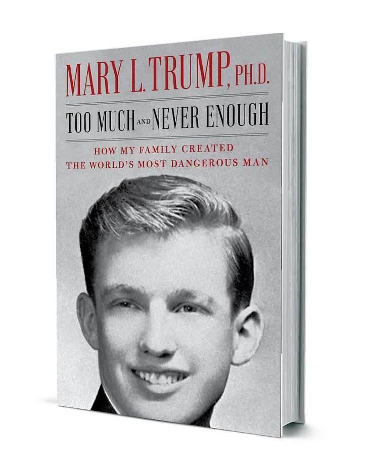 دار نشر  الكتاب أكدت أنّ ماري ترامب