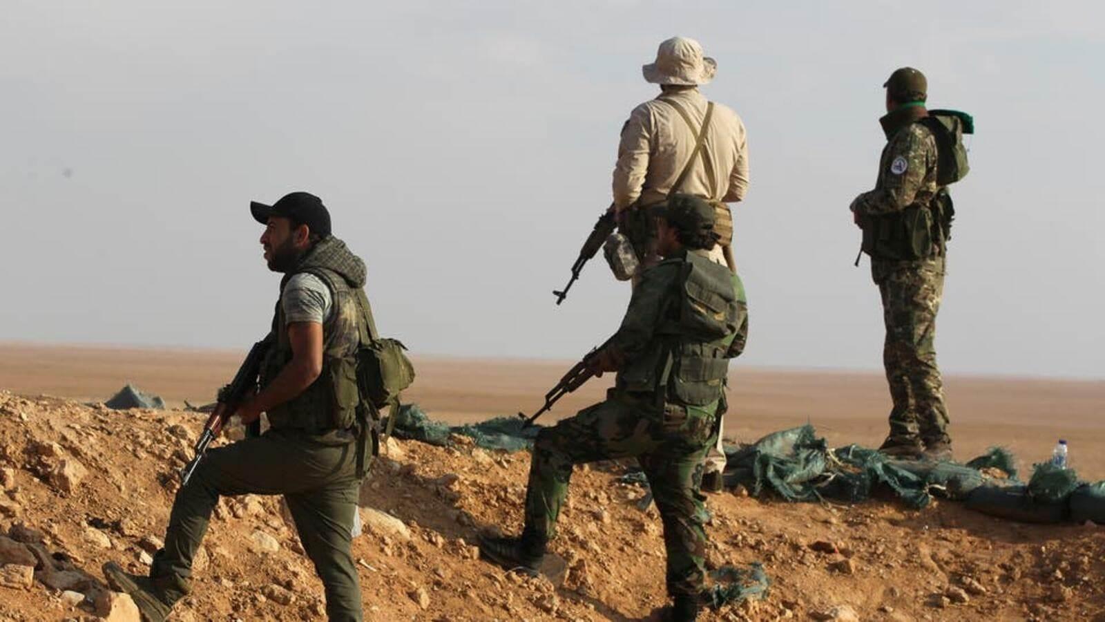 عثرت القوات المسلحة على 29 وكراً تابعة لعصابات داعش