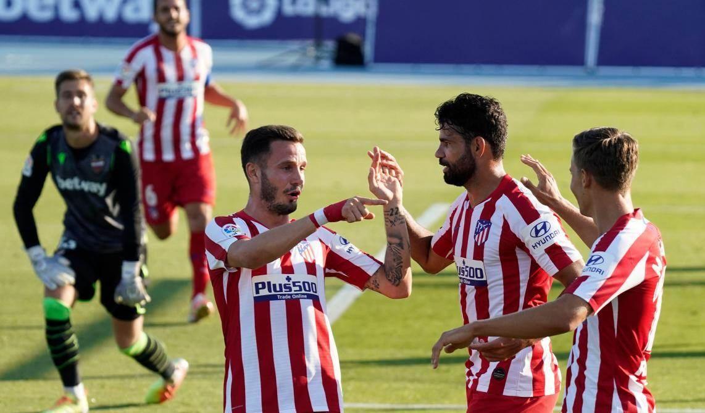 فاز أتلتيكو مدريد على ليفانتي 1-0
