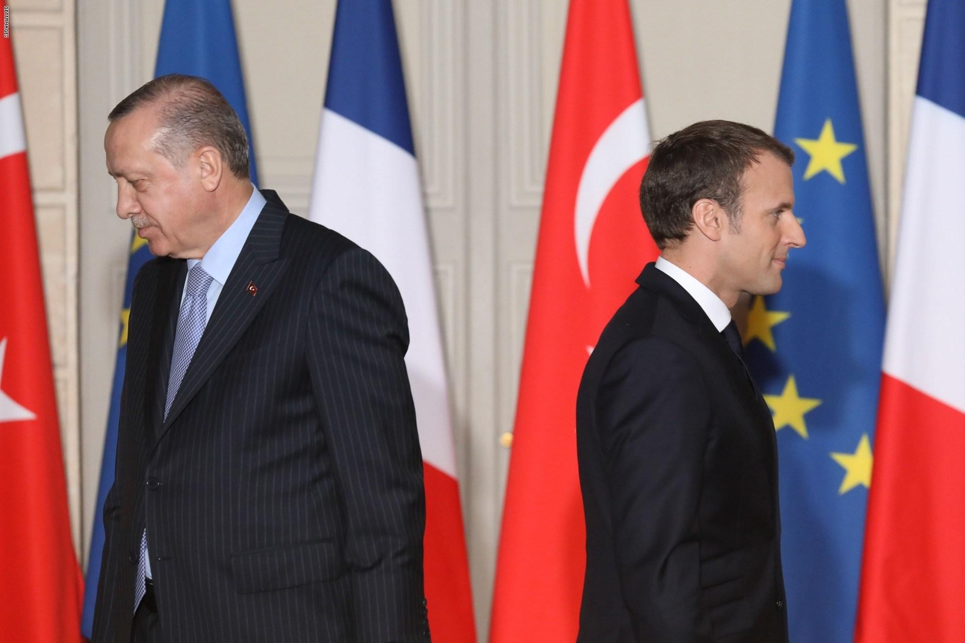 تركيا تهاجم ماكرون وتضع شرطاً لفرنسا في ليبيا