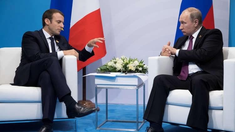 الرئيس الفرنسي إيمانويل ماكرون يدعو إلى وقف الحرب في ليبيا
