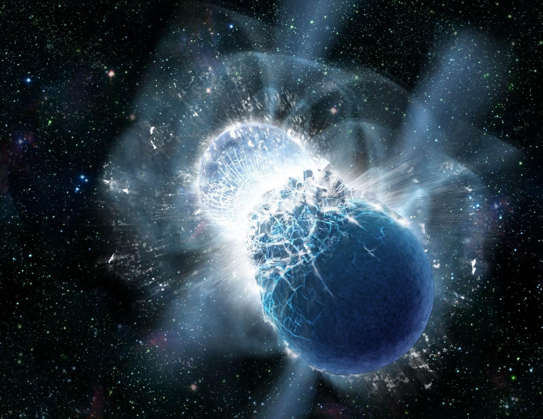 تتكون النجوم النيوترونية والثقوب السوداء عندما تحترق النجوم الضخمة من خلال وقودها النووي