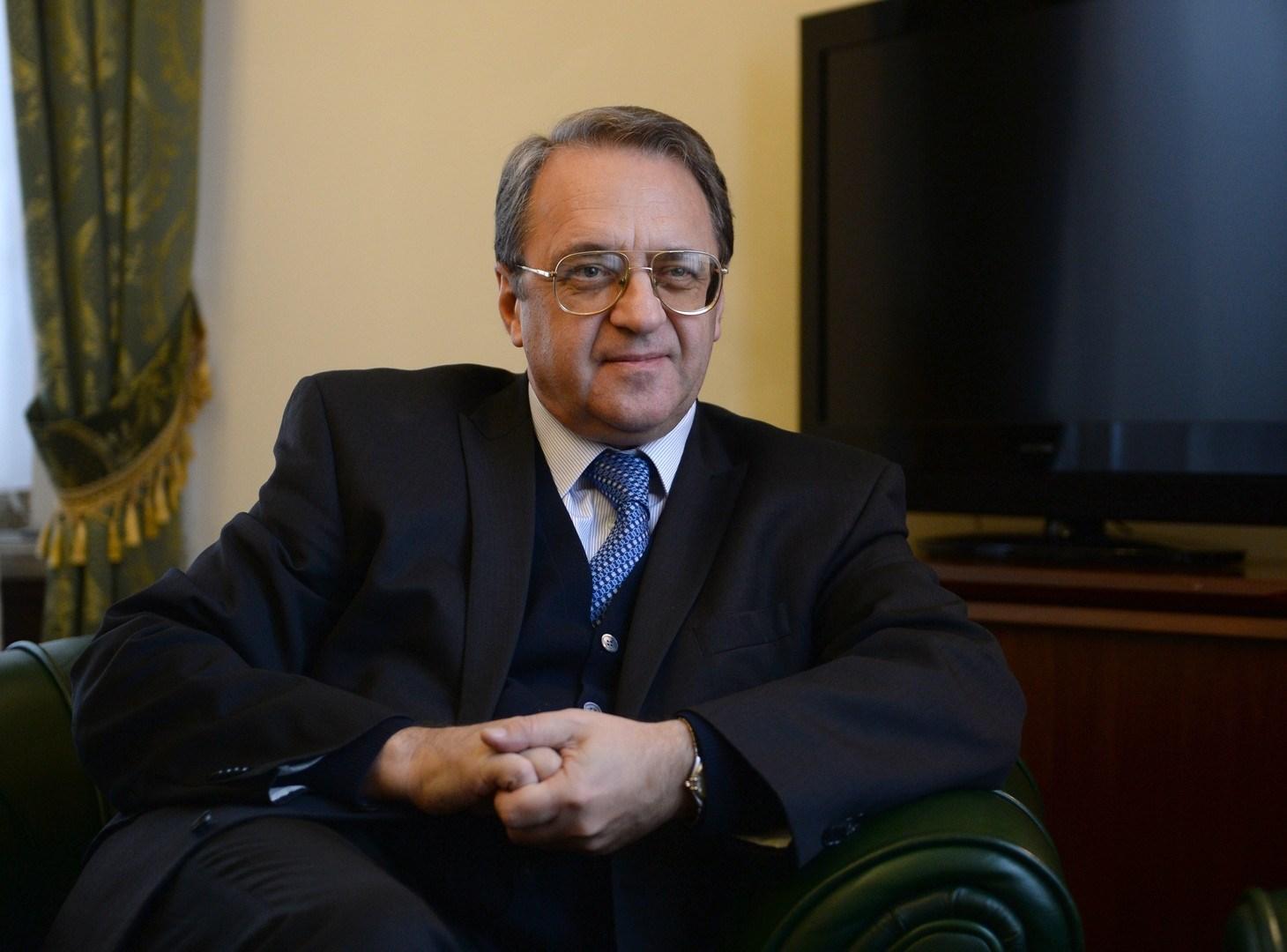 بوغدانوف يشدد على ضرورة توصل الجانبين الفلسطيني والإسرائيلي إلى حلول مقبولة لجميع المشاكل عبر المفاوضات