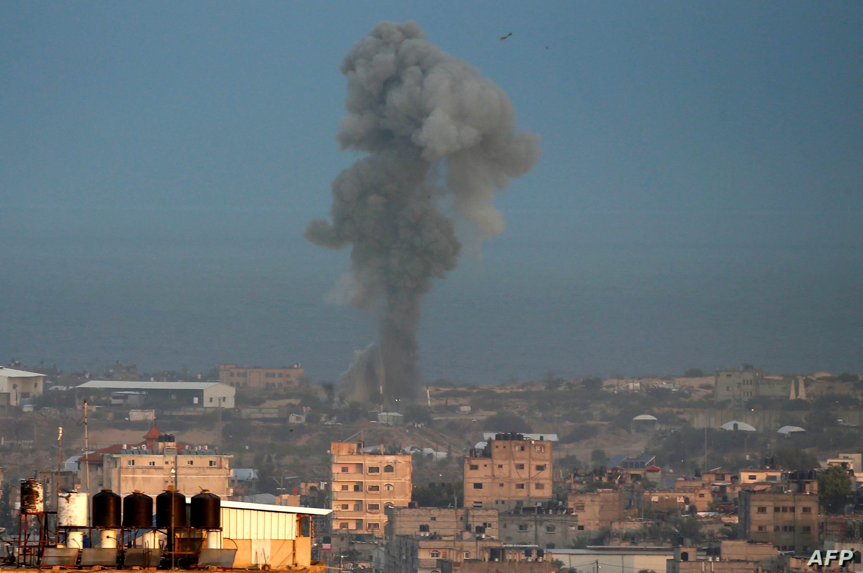 سماع دوي إنفجار غرب المحافظة الوسطى لقطاع غزة