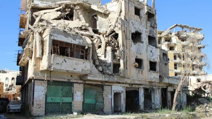 الدمار في ليبيا