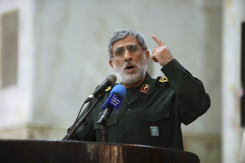 قائد قوة القدس في سوريا