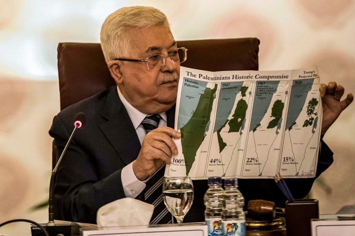 صورة أرشيفية للرئيس الفلسطيني محمود عباس