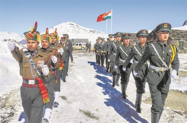 الصين تنشر عناصر متخصصين في الفنون القتالية على حدود الهند