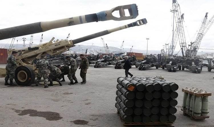 الشهر الأخير من العام 2019 شهد صدر قرار مفاجئ عن الإدارة الأميركية بالإفراج عن 105 ملايين دولار من المساعدات العسكرية للجيش اللبناني.