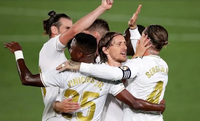 فاز ريال مدريد بجميع مبارياته بعد عودة
