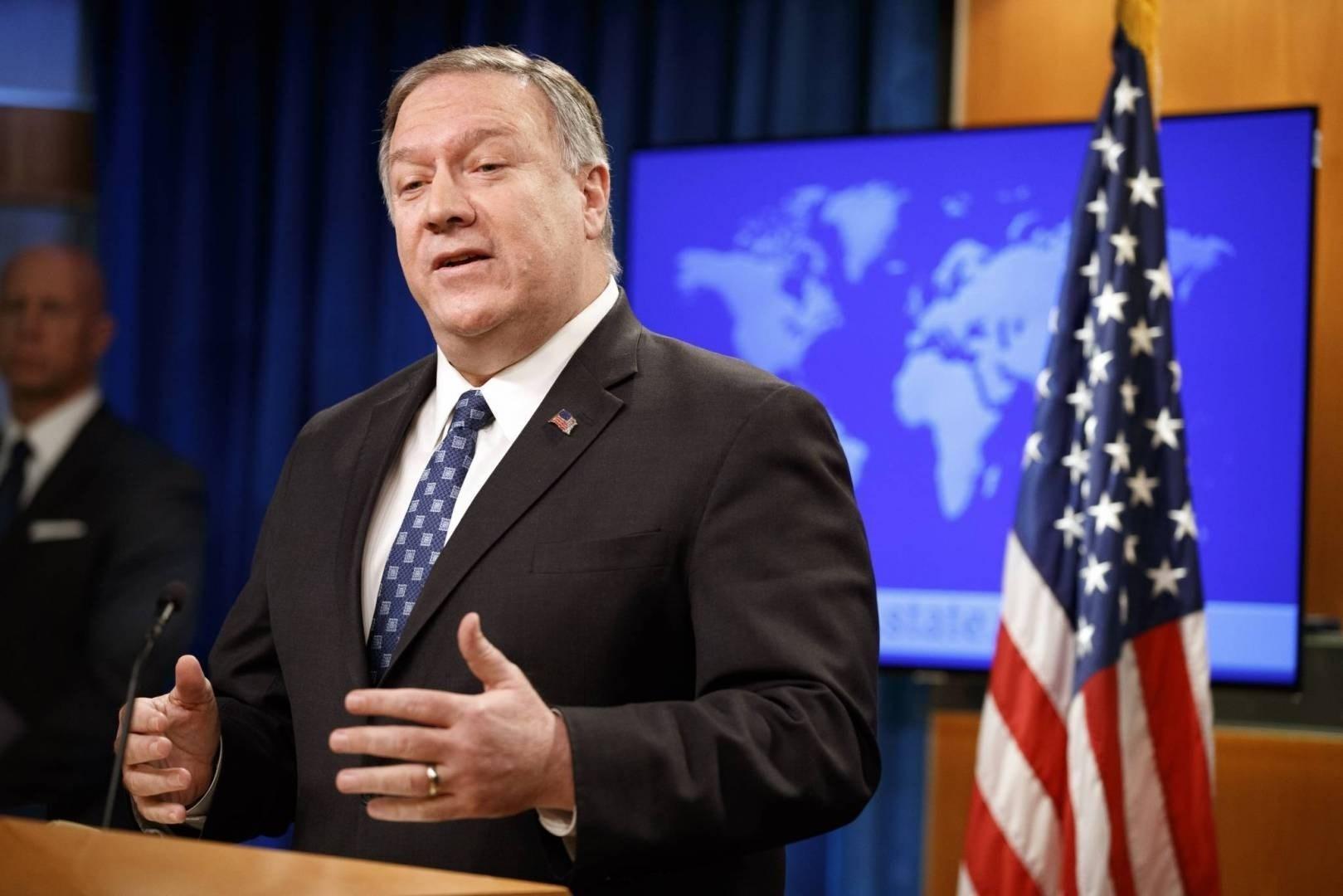 بومبيو: إذا رفع حظر الأسلحة عن إيران فإنها ستستورد طائرات روسية سريعة وتطور أجهزتها البحرية