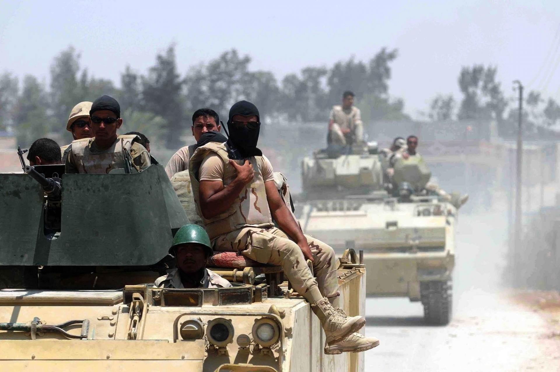 الداخلية المصرية: مقتل إرهابيين في شمال سيناء