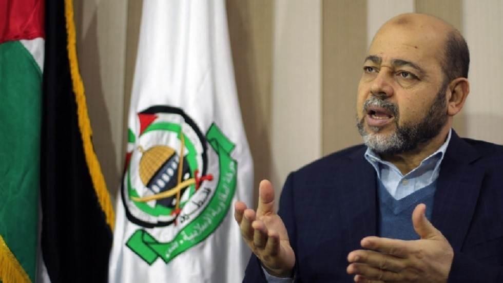 أبو مرزوق يدعو إلى عقد اجتماع قيادي وطني للتوافق على برنامج لمواجهة الضم